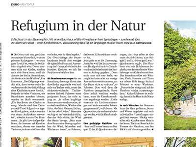 Refugium in der Natur